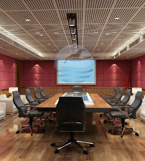 会议室吸音隔音装饰