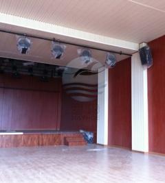 学校礼堂环保吸音板装饰