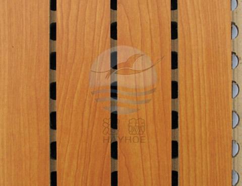 海赫槽木吸音板