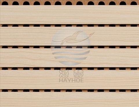 防火槽木吸音板