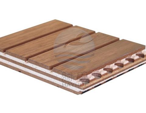 实木复合吸音板