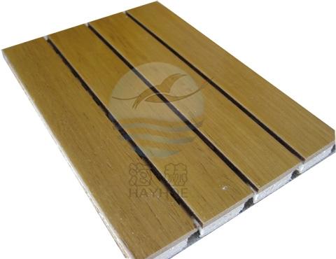 竹木复合吸音板