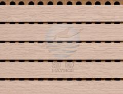 阻燃槽木吸音板