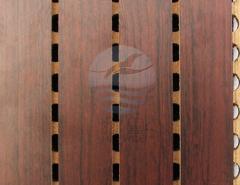 条形槽木吸音板