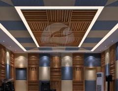 声乐室扩散体吸音工程